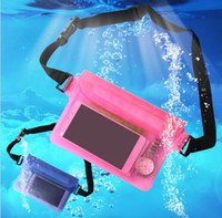 Wholesale Waterproof Transparent Pouch For Phone Accessory Accessories Screen Protector Waterproof Seal Bag Sports Soft Plastic Packing Bags