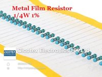 Wholesale ohm W R Metal Film Resistor ohm W ROHS