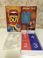 Wholesale The new Hottest Speak Out Game KTV party game cards for party Christmas gift newest best selling toy