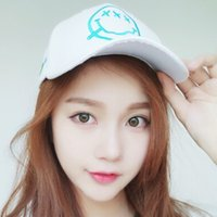 baseball lollipops - Unisex Lollipop Smiling Face Printing Embroidery Cotton Baseball Cap Couple Sun Visor Hat
