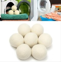 Wholesale XL Wool Dryer Ball Reusable Natrual Fabric Softener Balls for Clothes Drying Machine
