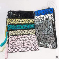 Wholesale 8 Colors Women England Style Diamond Lattice Pattern Clutch Bag Lady Satchel Totes Clutch Handbag Comestic Bags LJJC5252
