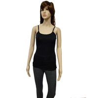 Wholesale Camis Sexy Women Tank Tops Bamboo Fiber Simple Solid Short Knitted Women Tank Tops for Women