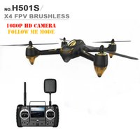 advance rc - Advanced Version Hubsan H501S X4 RC Drone with P HD Camera GPS Brushless Motor Follow Me Mode G FPV Remote Control Toys