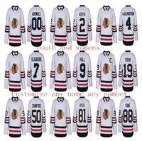 achat en gros de hiver classique jersey womens-Chaussures de hockey personnalisées pour femmes 2017 Winter Classic Chicago Blackhawks 72 Artemi Panarin 50 Corey Crawford 88 Patrick Kane 2 Duncan Keith