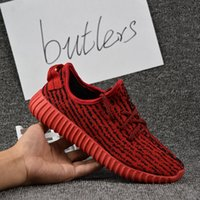 Cheap 2017 Adidas Yeezy Boost 350 White AQ2663 YZY Mens Running Shoes Women Kanye West Yeezy 350 Yeezys Season Yezzy Sports Shoes With Box