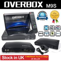 Wholesale Overbox M9S Satellite Receiver G Flash P Full HD IPTV Channels WEB TV Biss Key Supported Wifi G DVB S2 Set Top Box