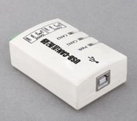 Wholesale USB to CAN Converter Adapter Dual channel CAN Interface Card