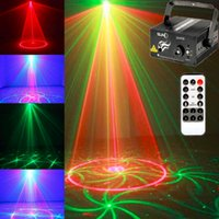 Grossiste- SUNY Mini 3 Lentille 24 Modèles LED Laser Stage Light Projecteur professionnel illumination DJ Disco Party Club, 5 ans de garantie