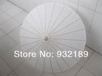 Wholesale bridal wedding parasols White mini paper umbrellas Chinese mini craft umbrella Diameter cm wedding favor decoration