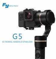 Gimbal action stores - FeiyuTech official store pre sale fy G5 axis handheld gimbal for gopro hero and other action cameras splashproof