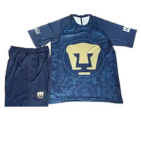 Wholesale 16 mens Pumas UNAM football Shirts NEW Mexico club Pumas UNAM Away blue soccer jerseys kit camisetas de futbol Cougar