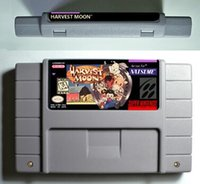 Wholesale SNES Game card RPG Game Battery Save Harvest Moon