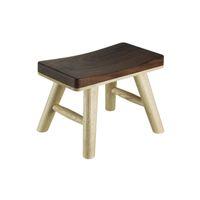 bench footstool - high bar stool bar stool Stool Bench of black walnut red oak wood stool Mumo a black walnut stool tenon Kitaka footstool bar chair gift