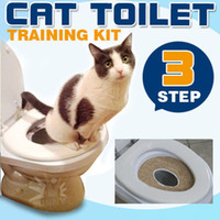 Wholesale CAT TOILET TRAINING KIT Pee Potty Pet Litter Tray with Catnip FAST SHIP AU STOCK