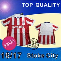 arrival cities - New Arrival Stoke City Soccer Jersey Home red Soccer Jersey Stoke City Football Shirts Thai Quality Jeresys
