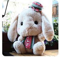 animal mate - Animal Plush Stuffed Toy Price Hanging Ears Rabbit Children Doll Sleep Mate Birthday Gift Soft Plush Toy Price Toy HANCHENMED