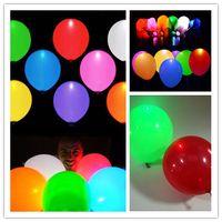 Wholesale LED Light Balloon For Wedding Celebration Party Bar Decoration Light Up balloon flashing balloon
