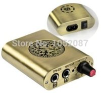 Wholesale NEWEST Hot Sale Cool Mini Tattoo Power Supply for Rotary Tattoo Machine Kit