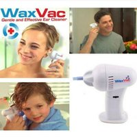 Wholesale New arrival WAXVAC Wax Vac Deluxe Model Cleaner CORDLESS Safe Clean Dry Ears H076