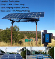 Wholesale 2017 yeat hot sale HP KW Solar Water Pumping System for farming solar panels for solar energy pumping system china
