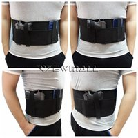 Wholesale Belly Band Holster Concealed Carry with Magazine Pocket Pouch Elastic Straps for Women Men Fits Glock Ruger LCP M P Shield Sauer Rug