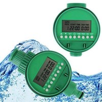 Wholesale New Two Dial Home Water Timer Garden Irrigation Controller Set Programs Automatic Watering Irrigation Controller Timer