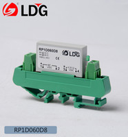 Wholesale LDG RP1D060D8 PCB solid state relay with the base replacement of CARLO GAVAZZI
