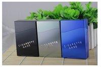 Wholesale High quality Aluminum Cigar Cigarette Tobacco Holder Storage Case Pocket Box new arrival Brand New