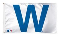 Wholesale Chicago Cubs team flag X MLB NHL fan flag X cm banner brass metal holes flag