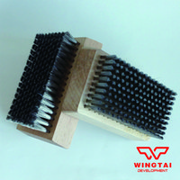 Wholesale L108mmxW64mmxH19mm Stainless Steel Wire Brush Metal cleaning anilox roll stainless steel brush