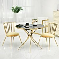 Wholesale modern chromed golden silver coffee table customized small coffee table for home furniture