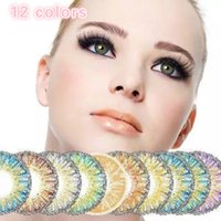 Wholesale HOT NEW tone color contact lens soft color contact lenses colors Cosmetic contact lenses One Year