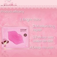 age mask - PILATEN BRAND skin care Crystal Collagen lip Mask Moisture essence lip care pads anti ageing wrinkle patch pad gel