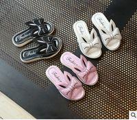 Chaussons de filles Enfants mignons oreilles de lapin enfants chaussure en cuir pu chaussures chaussures de printemps en bas souple Chaussures de plage de dessin animé T2086