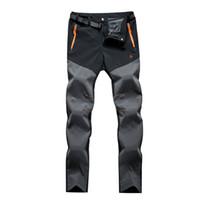 Wholesale Mount Pants Men Outdoor Breathable Summer Running Sport Trousers Men Quick Dry Camping Hiking Pants Trekking Pants JK13