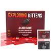 Wholesale Fun Exploding Kittens Cards Humanity Board Game with NSFW and Red Version Familay and Friends Party Playing Card Game