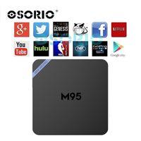 Android 6.0 TV Caja Amlogic S905X Mini M95 PRO OTT Caja 2GB / 8GB KODI16.1 3D Smart xbmc Media y reproductor de juegos