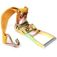 belt tensioner - 12M Ratchet Tensioner Polypropylene PP Webbing Bandage Rope Band Belts Binding Truck Transportation Home Travel Lage Suitcases