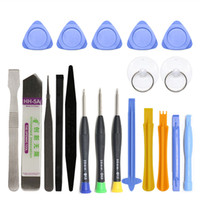 Wholesale 20 in Mobile Phone Repair Tools Kit Spudger Pry Opening Tool Screwdriver Set for iPhone iPad Samsung Cell Phone Hand Tools Set
