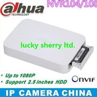 Wholesale New Arrived H dahua nvr CH with P realtime live view Smart box HDD NVR104 Support P2P NVR104 NVR108 Onvif inches HDD