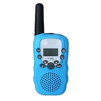 baby walkie talkies - two way radio kit set toy walkie talkies mini for kids boys and girls baby pink yellow handheld blue speaker mic quality cheap