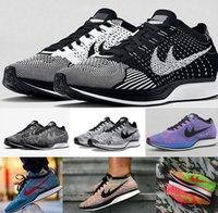 barefoot mens shoes - 2017 Cheap Brand High Quality Womens Mens Flyline RACER Running Shoes sneakers Barefoot Free Run Sports roshe