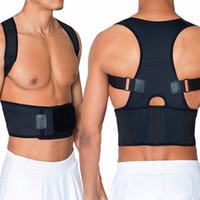 Wholesale Unisex Posture Brace with Adjustable Belt Body Shoulder Support Color Options Back Corrector Back Straightener