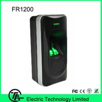 Wholesale IP65 waterpoor FR1200 fingerprint reader exit reader for F18 F2 F8 and Inbio160 access control system