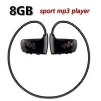 Walkman caliente del jugador de música del MP3 del deporte del jugador de la venta W262 8GB Mp3 para el jugador de mp3 del auricular del auricular de Sony NWZ-W262 Envío libre