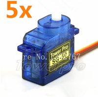 airplane models sg - 5pcs Tower Pro g SG Micro Digital Servo With Plastic Gear For RC Model Car RC Airplane RC Helicopter Boat