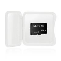 al por mayor 8gb micro sd cards-Tarjeta de memoria Tarjeta micro SD de 8GB Tarjeta SD MicroSD TF Memoria micro SD Capacidad total garantizada 8 GB