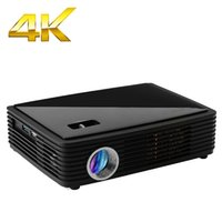 android disco - LUXCINE K chipset P Home Cinema Game D Projector Android smart Full HD DLP Projectors for Night Disco Club Lumen