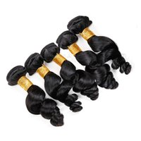 Wholesale Vinsteen Unprocessed Brazilian Hair Loose Wave Bundles Human Hair Weaves Peruvian Malaysian Indian Hair Extensions Dyeable A Best Quality